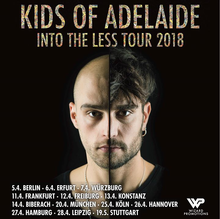 Kids of Adelaide • Into the less Tour • Leipzig